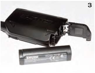 付属のバッテリー