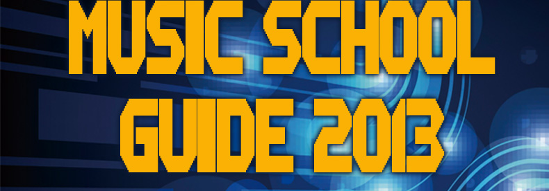 MUSIC SCHOOL GUIDE 2013
