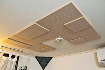 天井:「Square」を配置