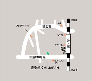 MI JAPAN地図写真